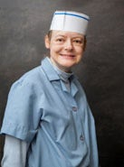 Photo of Allison Ashmore in a Global Connections to Employment uniform.