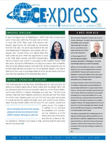 GCE Newsletter - Fall 2018