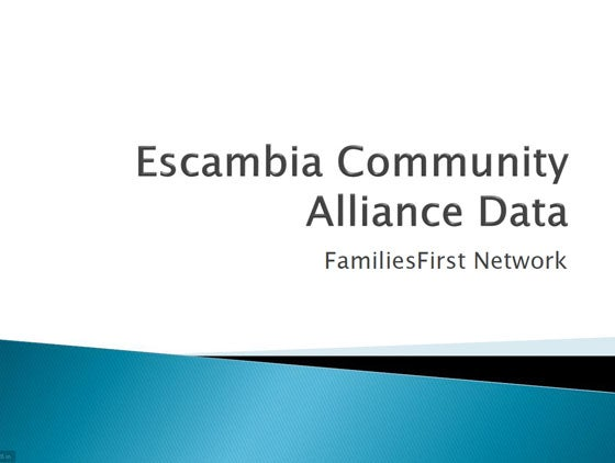 Escambia County Community Alliance Data Icon