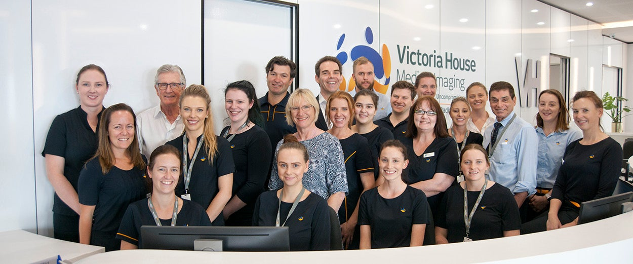 Team at Victoria House