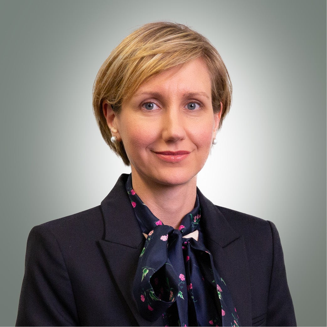 I-MED Chief Financial Officer Claire Battelino