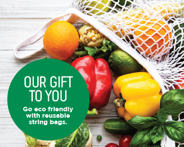 Eco Gift With Purchase