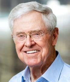 Charles Koch headshot