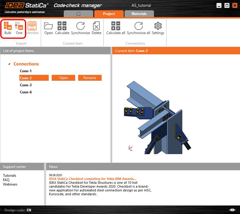 Code-check manager v CAD aplikacích