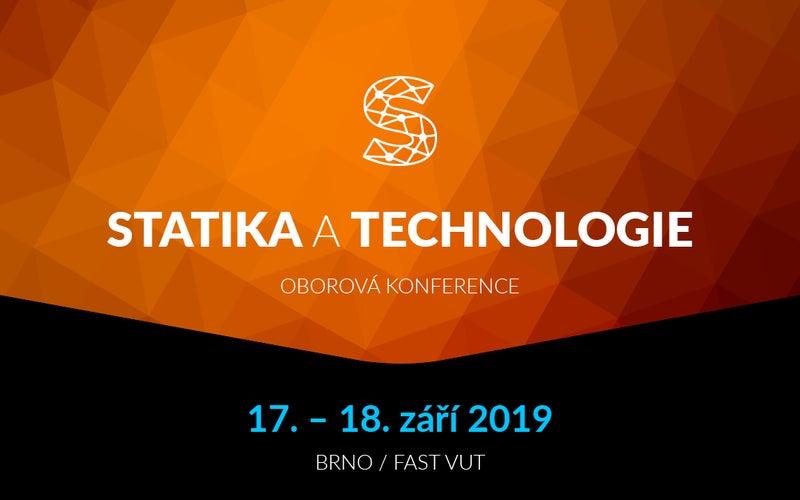 Konference Statika a technologie 2019