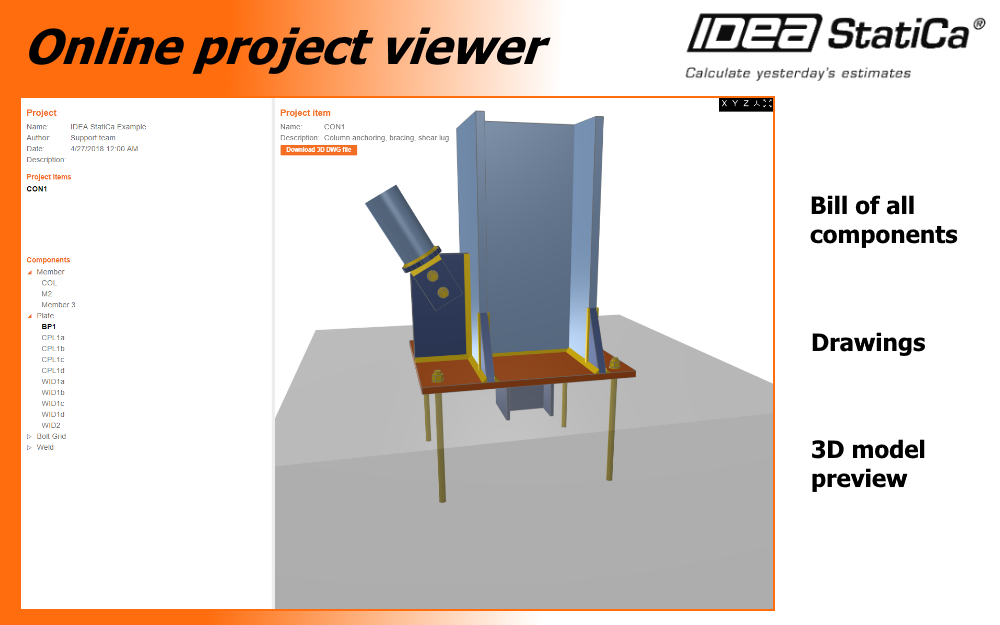 Online project viewer