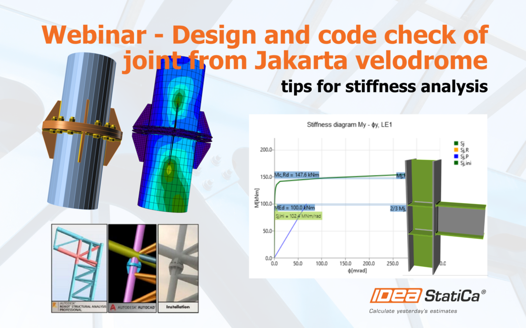 Design and code check of a joint from Jakarta velodrome