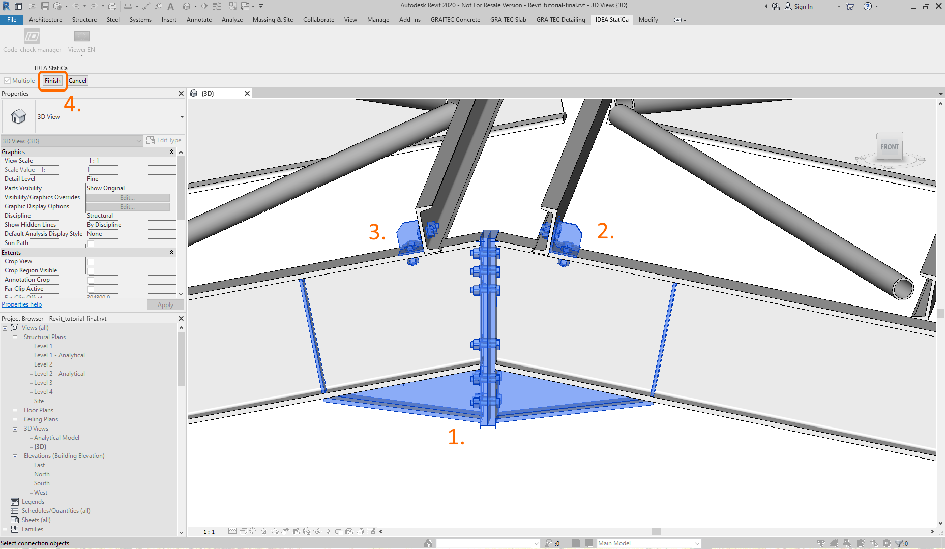 IDEA StatiCa Viewer for Autodesk Revit