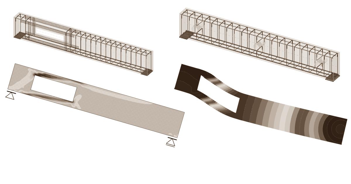 openings in beams