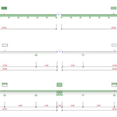 Composite beams in IDEA StatiCa Beam app - comparison with midas Civil
