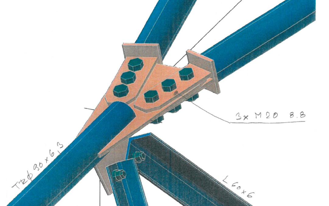 Connection Wednesdays – ČEPS tower mast clip joint