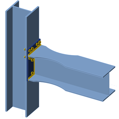 Irregular bolt group, flange notches