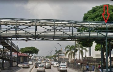 Pedestrian bridge, Ecuador