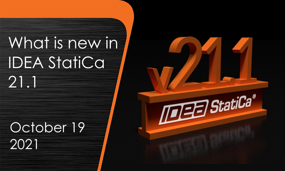 What is new in IDEA StatiCa 21.1