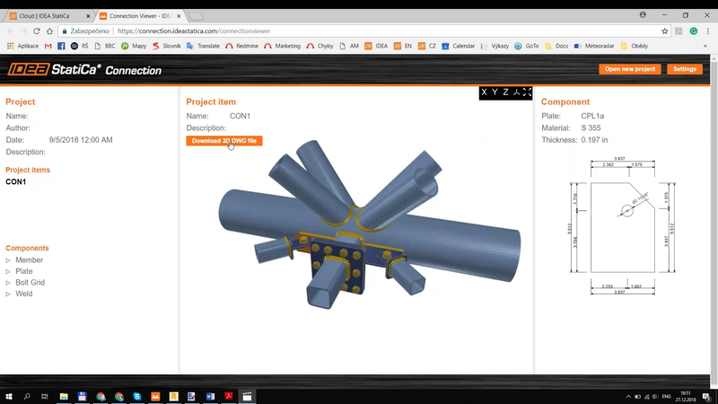 Online project viewer – handy tool on cloud