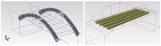 Stanovení zatížitelnosti železobetonového obloukového mostu