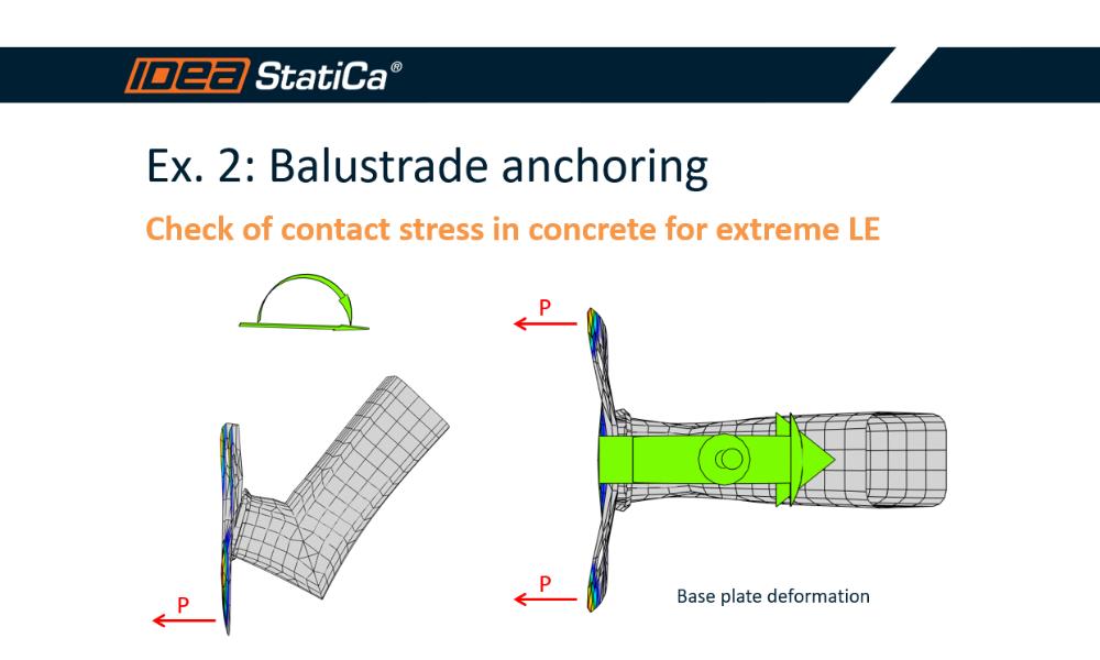 How to design balustrade or cantilever anchoring?