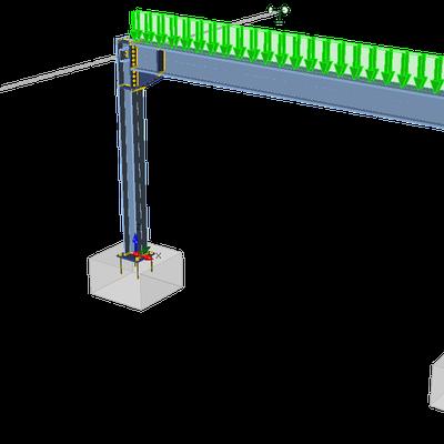 IDEA StatiCa Member – Frame