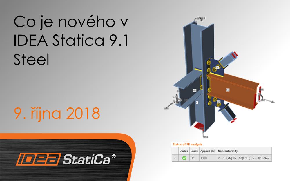 Co je nového v IDEA Statica 9.1 Steel