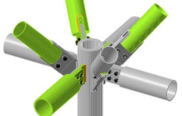 Connessioni tubolari 3D complesse