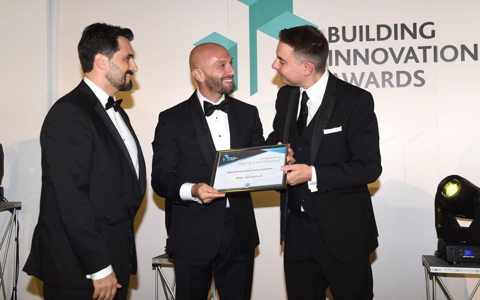 IDEA StatiCa UK receives Building Innovation Award 2019