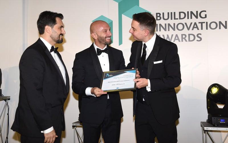 IDEA StatiCa UK receives award at Building Innovation Awards 2019