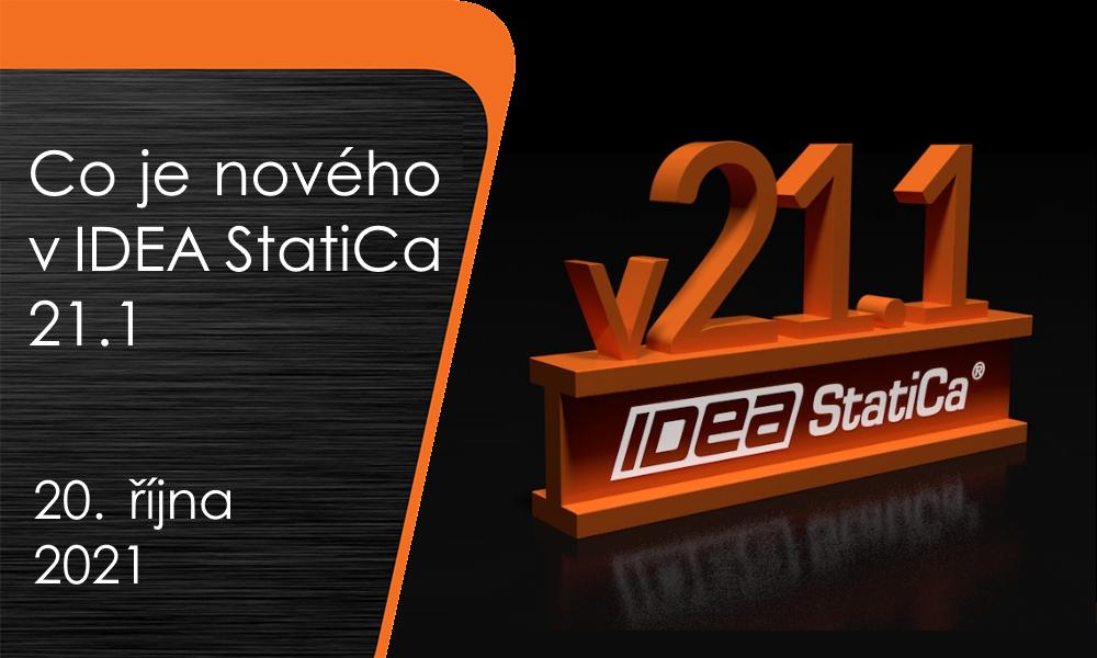 Co je nového v IDEA StatiCa 21.1