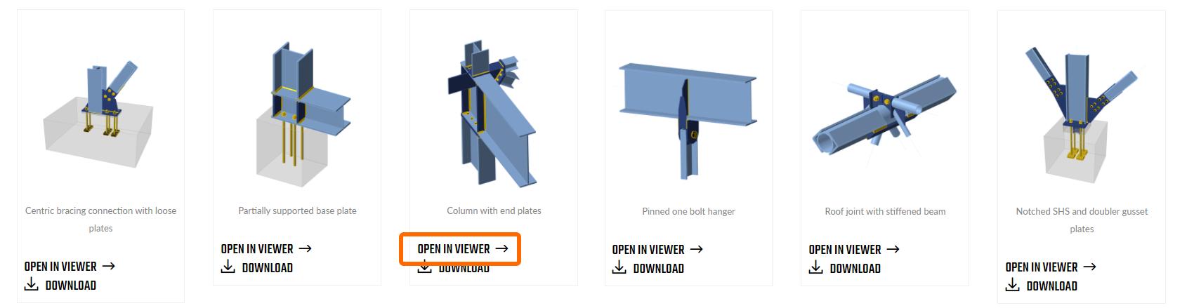 Voorbeeldprojecten bekijken in de Online viewer
