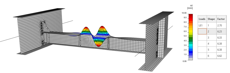 Fig. 14 Second mode shape