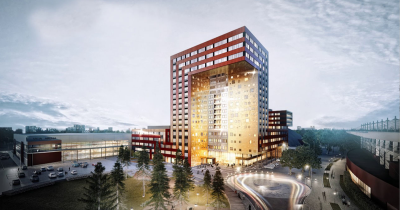 ICON Växjö project by Peikko, Sweden