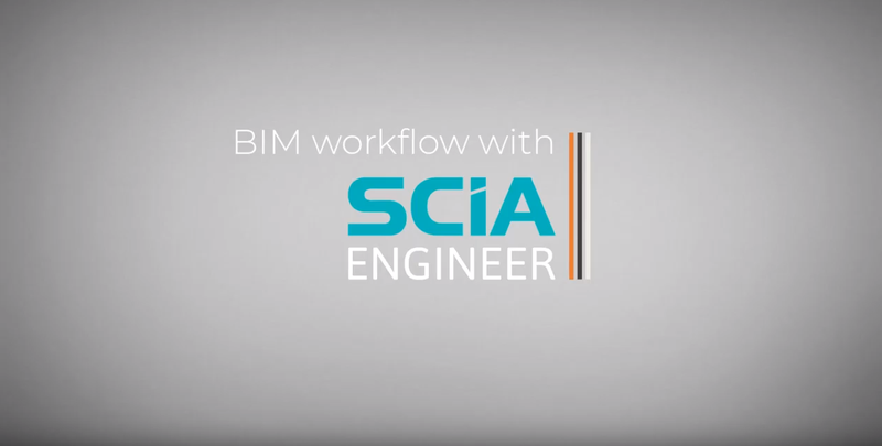 BIM workflow with SCIA Engineer