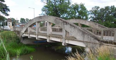 Retrofit of a reinforced concrete arch bridge, Czech Republic