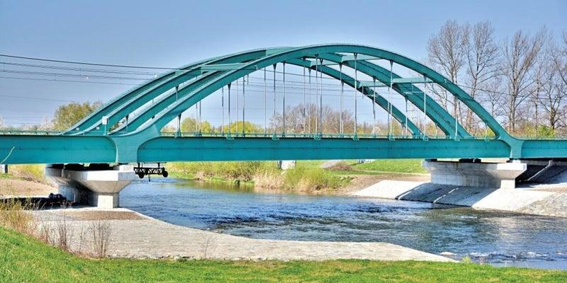 Případová studie:  Železniční most přes řeku Olši XXX
