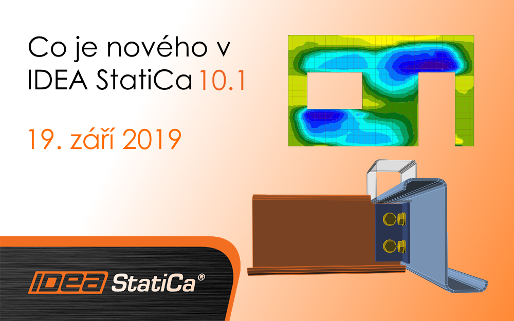 Co je nového v IDEA StatiCa 10.1