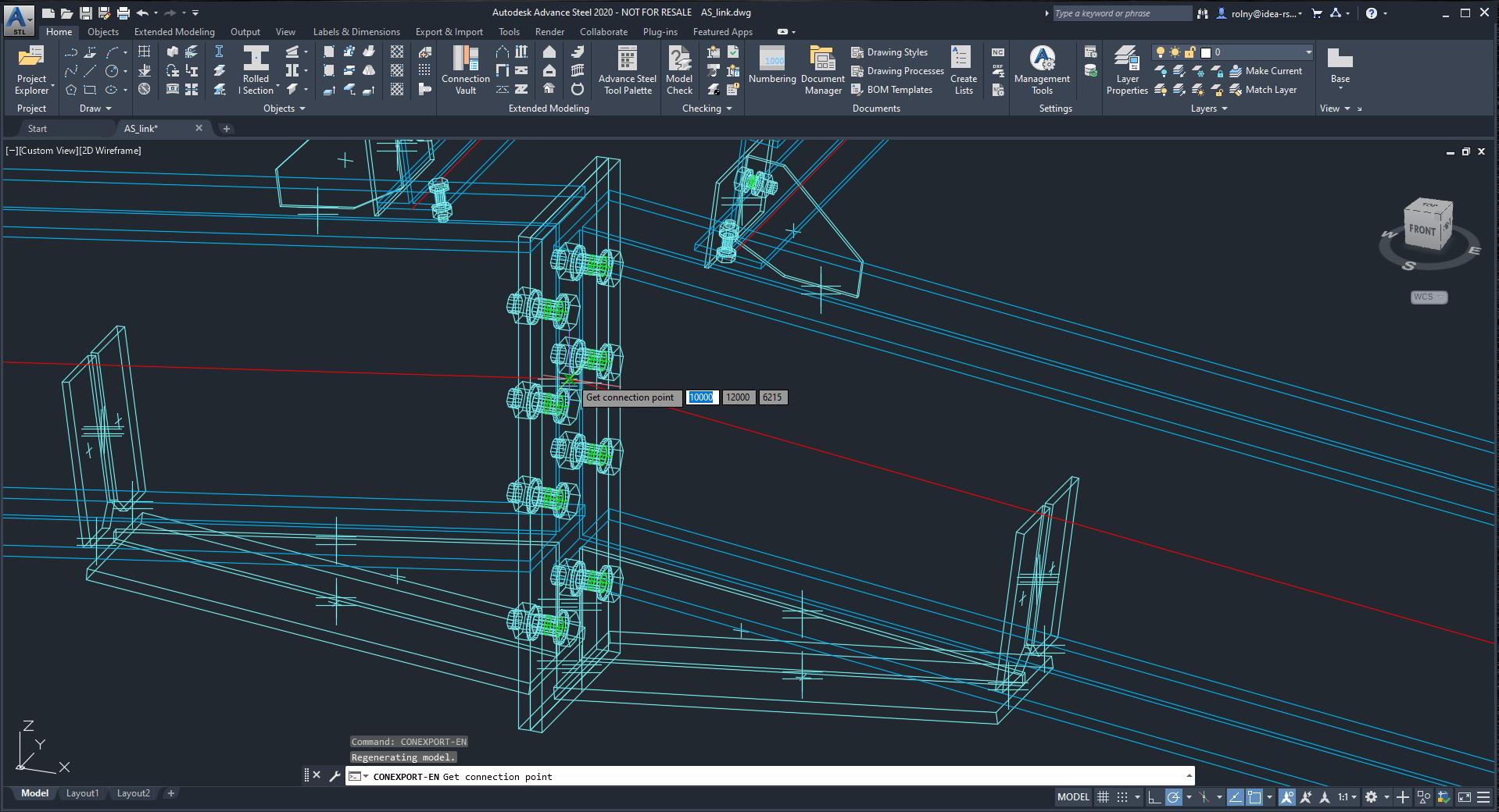 IDEA StatiCa Viewer for Autodesk Advance Steel