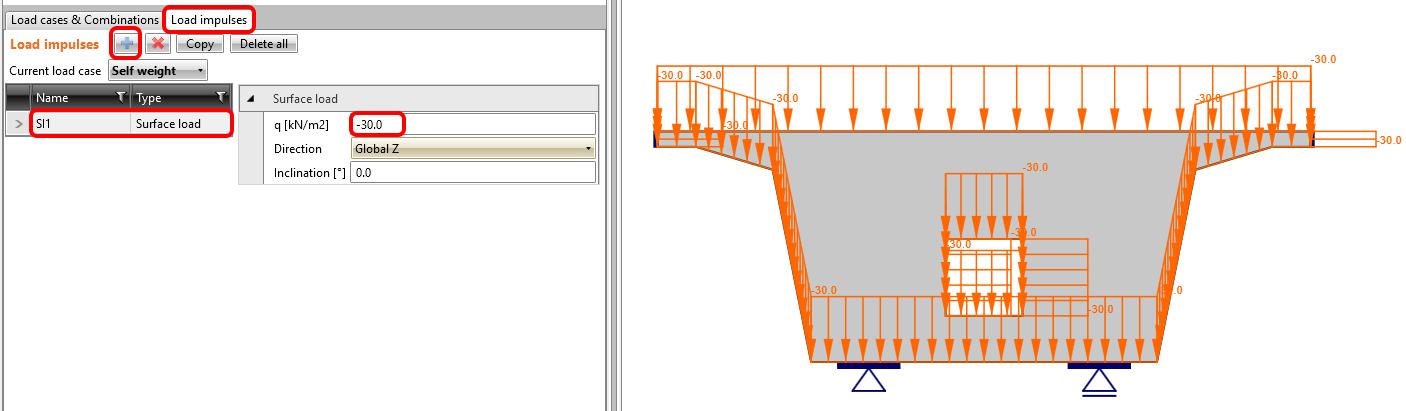 Bridge diaphragm - Loads