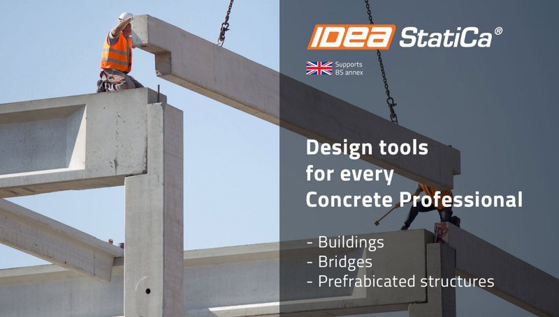 First UK webinar for IDEA StatiCa Concrete
