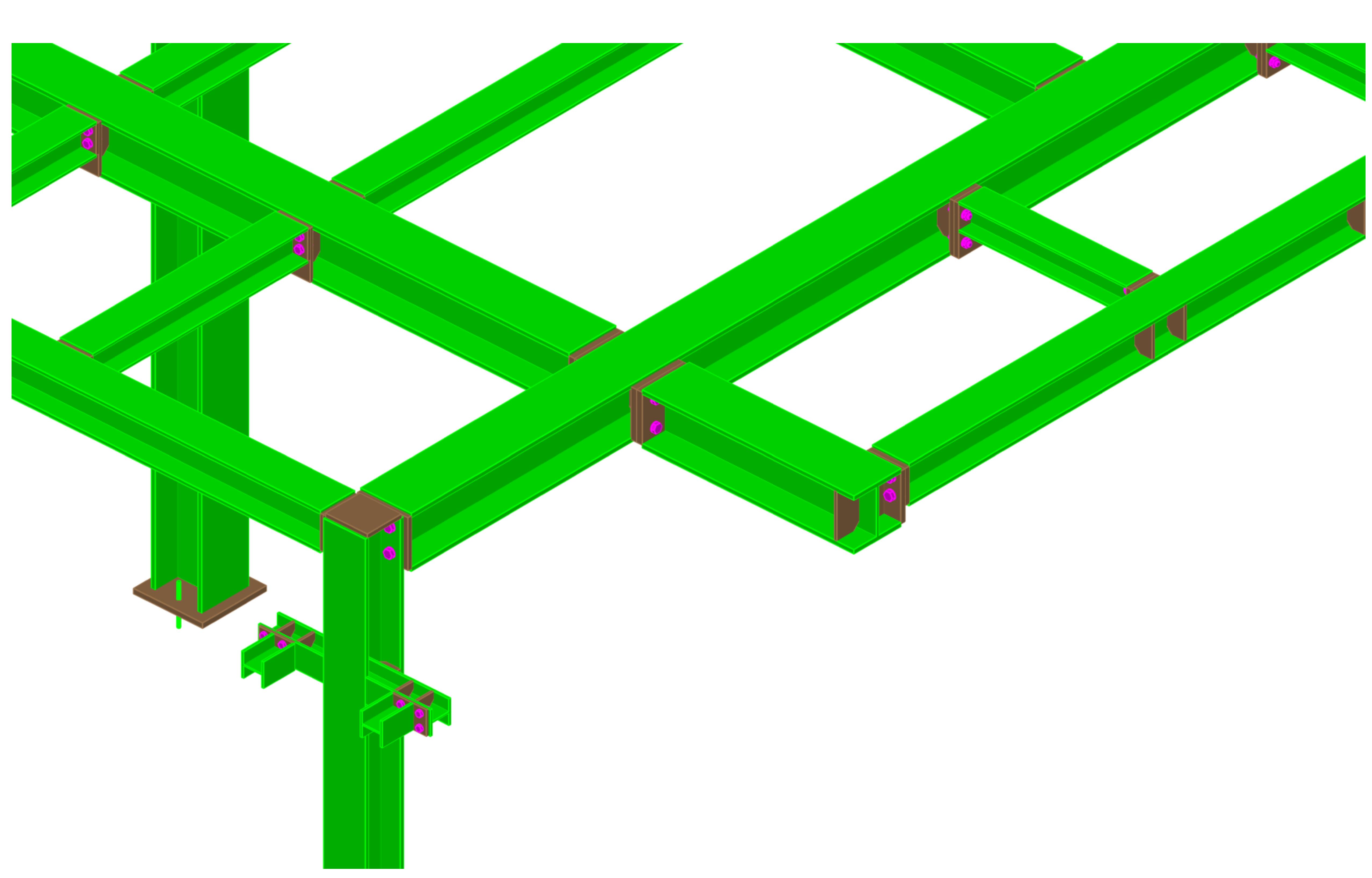 Podpůrná konstrukce k dopravníkovému pásu