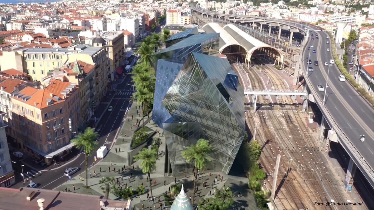 Studio Libeskind, přestavba hlavního nádraží v Nice