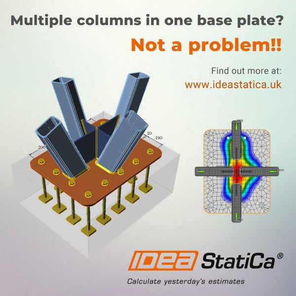 Multiple columns in one base plate? NOT A PROBLEM!!