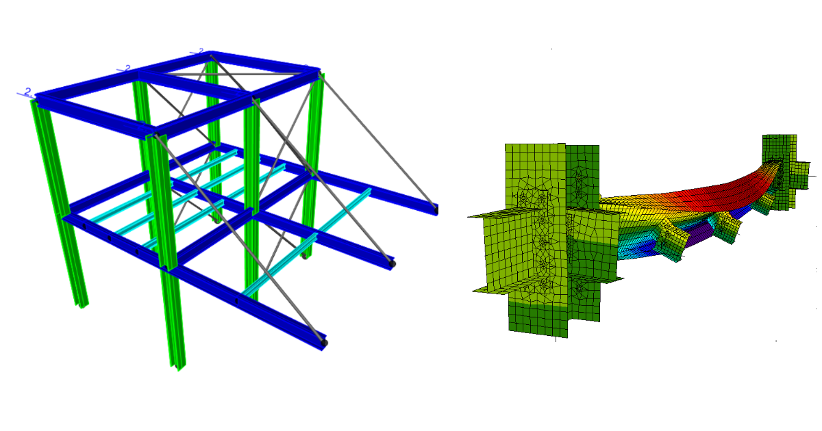 Complete code - check of lateral torsional buckling by usage GMNIA