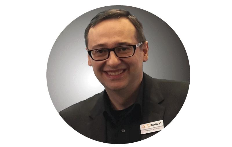 Aleksandar Mladenov van IDEA StatiCa