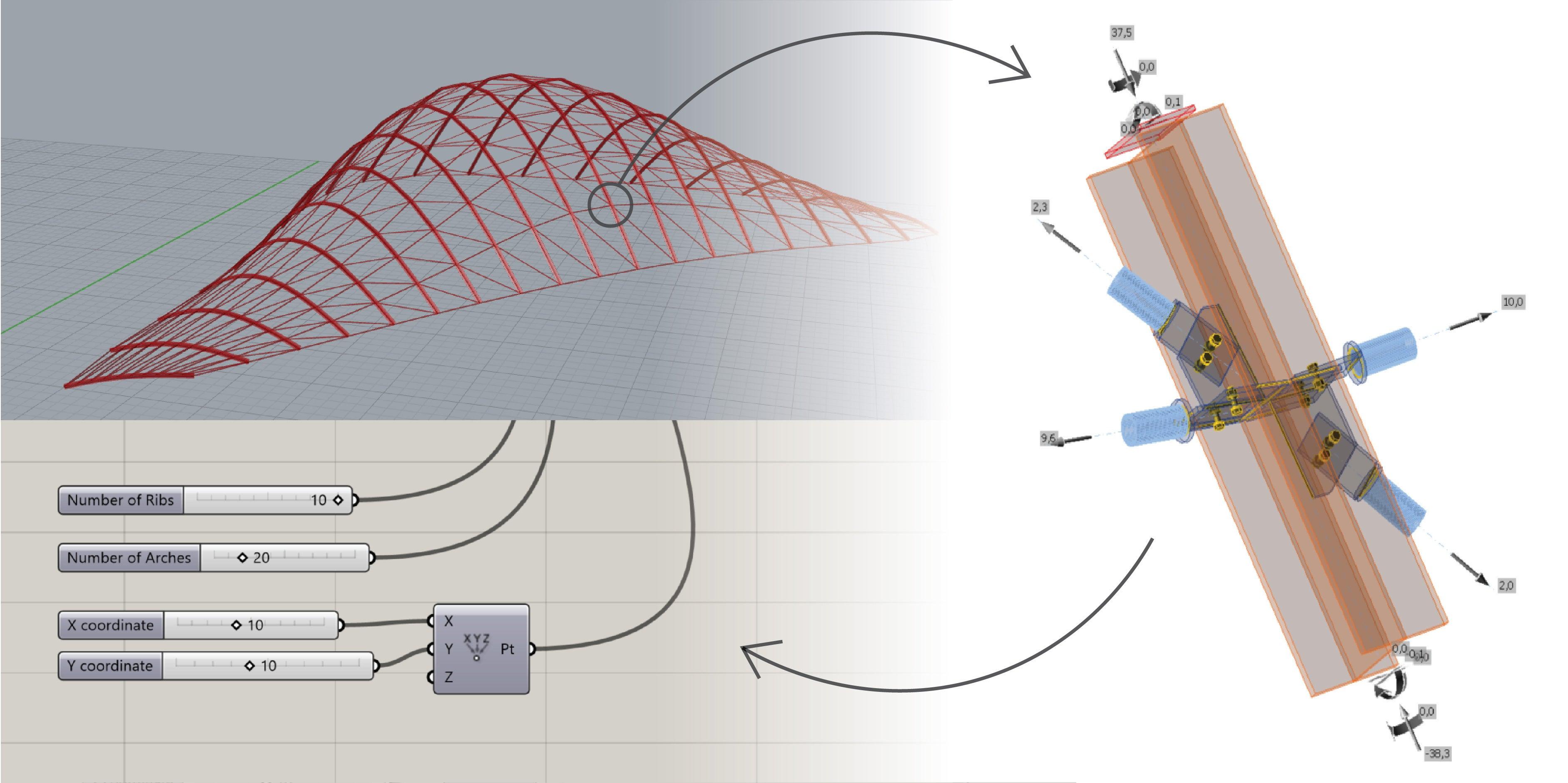 KarambaIDEA - connection design workflow