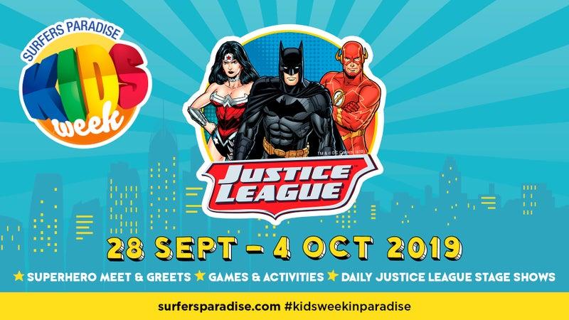 Surfers Paradise Kids Week - Justice League