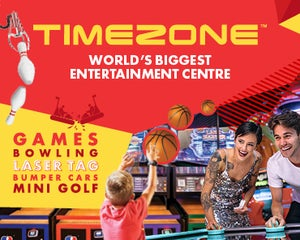 Timezone Opens Saturday 9 November!