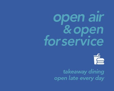 Takeaway Dining Available