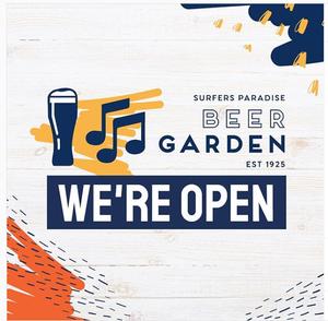 Surfers Paradise Beer Garden Now Open