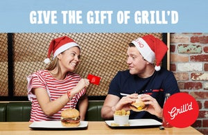 Give the gift of Grill'd this Christmas