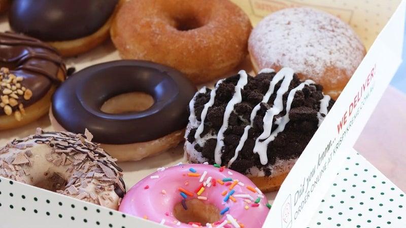 Krispy Kreme Now Open