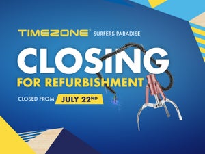 Timezone - Closing for Refurbishment